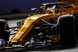 September 14, 2018 - Singapore, Singapore - Motorsports: FIA Formula One World Championship 2018, Grand Prix of Singapore, .#2 Stoffel Vandoorne (BEL, McLaren F1 Team) (Credit Image: © Hoch Zwei via ZUMA Wire)