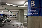Car park architecture at Heathrow's terminal 5.