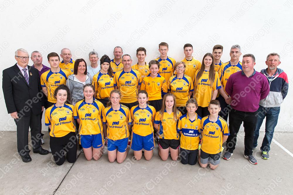 Clare Handball group photo