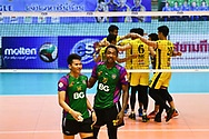 BANGKOK, THAILAND - MARCH 19: Kissada Nilsawai and Kitisak Saengsee during the 2016–17 Men's Volleyball Thailand League Championship, Chantarubeksa Air Force Stadium, Bangkok, Thailand on March 19, 2017.<br /> .<br /> .<br /> .<br /> (Photo by: Naratip Golf Srisupab/SEALs Sports Images)<br /> .<br /> Any image use must include a mandatory credit line adjacent to the content which should read: Naratip Golf Srisupab/SEALs Sports Images