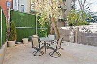 Garden at 252 West 123rd St