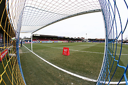 A general view of the stadium - Mandatory by-line: Arron Gent/JMP - 16/02/2019 - FOOTBALL - Cherry Red Records Stadium - Kingston upon Thames, England - AFC Wimbledon v Millwall - Emirates FA Cup fifth round proper