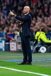 08-05-2019 NED: Semi Final Champions League AFC Ajax - Tottenham Hotspur, Amsterdam<br /> After a dramatic ending, Ajax has not been able to reach the final of the Champions League. In the final second Tottenham Hotspur scored 3-2 / Coach Erik ten Hag of Ajax