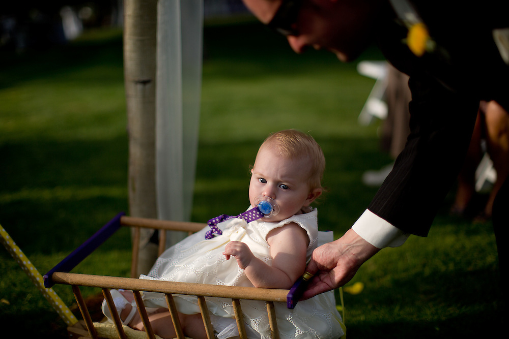 Josh and Kelly Amick are married at Raccoon Creek Golf Course in Littleton, Saturday, June 30, 2012