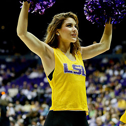 Jan 14, 2017; Baton Rouge, LA, USA; XXXX during the first half of a game at the Pete Maravich Assembly Center. Mandatory Credit: Derick E. Hingle-USA TODAY Sports