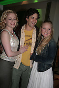 Helen Dallimore, Adam Garcia and Kerry Ellis, Cast change for Wicked. Apollo Victoria theatre. After party at Park Plaza Victoria. 12 April 2007.  -DO NOT ARCHIVE-© Copyright Photograph by Dafydd Jones. 248 Clapham Rd. London SW9 0PZ. Tel 0207 820 0771. www.dafjones.com.