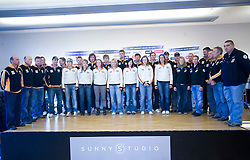 Women and men Slovenian Alpine Ski Team before new season 2008/2009, on Septembra 25, 2008, Ljubljana, Slovenia. (Photo by Vid Ponikvar / Sportal Images)
