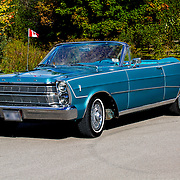 1966 Ford Galaxie 500 on pavement