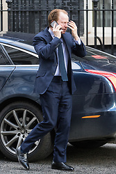 Downing Street, London, February 28th 2017. Minister for the Cabinet Office and Paymaster General Ben Gummer attends the weekly cabinet meeting at 10 Downing Street in London.