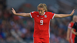 NEWPORT, WALES - Tuesday, September 3, 2019: Wales' Kayleigh Green during the UEFA Women Euro 2021 Qualifying Group C match between Wales and Northern Ireland at Rodney Parade. (Pic by David Rawcliffe/Propaganda)