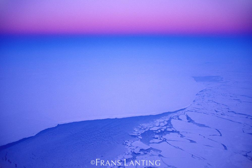 Winter over Greenland