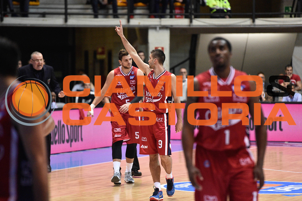 Milano 10.05.2016<br /> Basket Serie A - Playoff Gara 2<br /> EA7 Emporio Armani Milano - Dolomiti Energia Trento<br /> <br /> Nella foto: Mantal Kalnietis