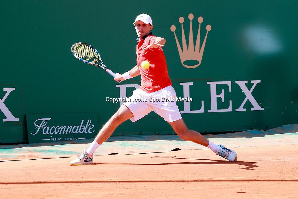 Edouard Roger Vasselin - 13.04.2015 - Tournoi de Monte Carlo 2015 - Masters 1000  <br />Photo : Serge Haouzi / Icon Sport