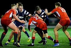 George Perry of Bristol Bears U18 - Rogan/JMP - 19/12/2019 - RUGBY UNION - Newlands Park - Cheltenham, England - Gloucester Rugby U18 v Bristol Bears U18 - Premiership Rugby U18 Academy League.