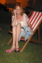 OLIVIA INGE at the Quintessentially Summer Party at the Wallace Collection, Manchester Square, London on 6th June 2007.<br />