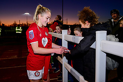 Players meet fans after the final whistle of the match - Mandatory by-line: Ryan Hiscott/JMP - 19/01/2020 - FOOTBALL - Stoke Gifford Stadium - Bristol, England - Bristol City Women v Liverpool Women - Barclays FA Women's Super League