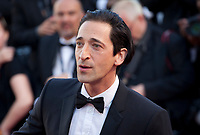 Actor Adrien Brody at the opening ceremony and Ismael's Ghosts (Les Fantômes D'ismaël) gala screening,  at the 70th Cannes Film Festival Wednesday May 17th 2017, Cannes, France. Photo credit: Doreen Kennedy