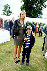 LADY ALEXANDRA GORDON-LENNOX and her brother LORD FREDDIE GORDON-LENNOX at the Cartier Style et Luxe, the Goodwood Festival of Speed, West Sussex on 13th July 2008.<br /> <br /> NON EXCLUSIVE - WORLD RIGHTS
