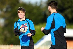 Ollie Hassell-Collins of England Under 20s - Mandatory by-line: Robbie Stephenson/JMP - 08/01/2019 - RUGBY - Bisham Abbey National Sports Centre - Bisham Village, England - England Under 20s v  - England Under 20s Training