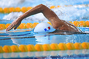 Damien Joly (FRA) competes on Men's 1500 m Freestyle during the Swimming European Championships Glasgow 2018, at Tollcross International Swimming Centre, in Glasgow, Great Britain, Day 4, on August 5, 2018 - Photo Stephane Kempinaire / KMSP / ProSportsImages / DPPI