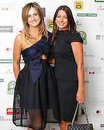 29/9/14***NO REPRO FEE***Pictured are Edwina Governey and Carol Anne Leyden at the 11th Q Ball in aid of Spinal Injuries Ireland at The Ballsbridge Hotel last night Pic: Marc O'Sullivan