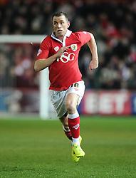 Bristol City's Aaron Wilbraham  - Photo mandatory by-line: Joe Meredith/JMP - Mobile: 07966 386802 - 17/02/2015 - SPORT - Football - Bristol - Ashton Gate - Bristol City v Peterborough United - Sky Bet League One