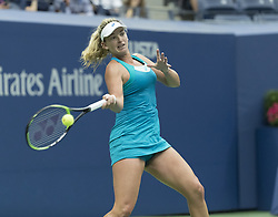 September 6, 2017 - New York, New York, United States - Coco Vandeweghe of USA returns ball during match against Karolina Pliskova of Czech Republic at US Open Championships at Billie Jean King National Tennis Center  (Credit Image: © Lev Radin/Pacific Press via ZUMA Wire)