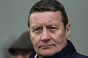 Chesterfield FC manager Danny Wilson during the Sky Bet League 1 match between Chesterfield and Crewe Alexandra at the Proact stadium, Chesterfield, England on 20 February 2016. Photo by Aaron Lupton.
