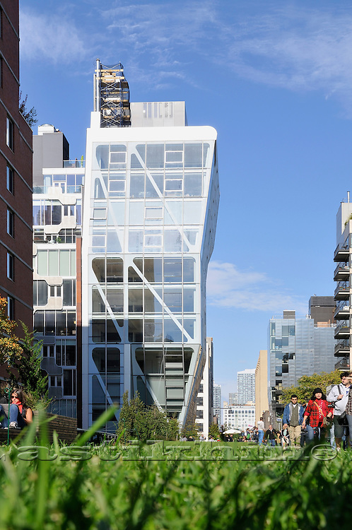 New York City's High Line Park, on the West Side of Manhattan.