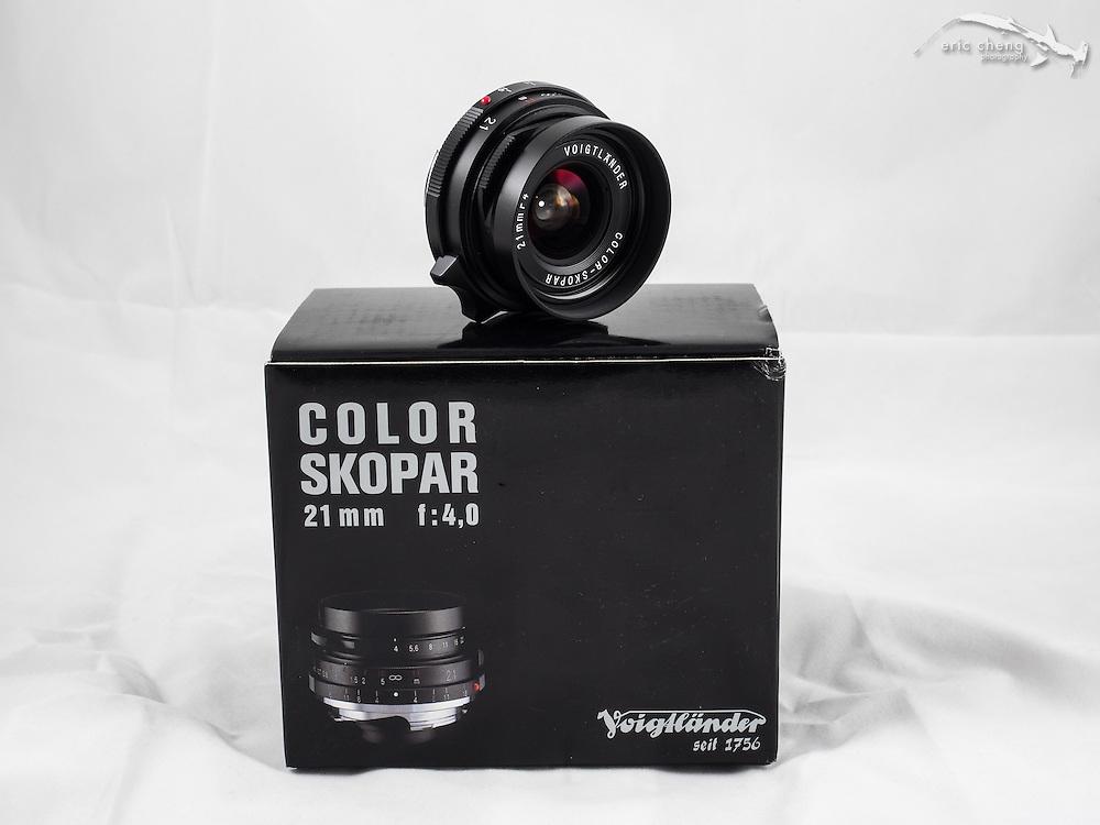 Voiglander Color Skopar 21mm F4.0, black, Leica M screw mount