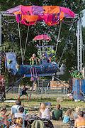 Childrens fantasy entertainment - The 2016 Latitude Festival, Henham Park, Suffolk.