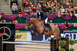 DEVOS Pieter (BEL), Fash<br /> Leipzig - Partner Pferd 2018   <br /> Equiline Youngster Cup Finale für 8 jährige Pferde<br /> © www.sportfotos-lafrentz.de/Stefan Lafrentz