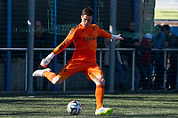 Real Madrid Castilla´s  Ruben Yanez during 2014-15 Spanish Second Division B match between Trival Valderas and Real Madrid Castilla at La Canaleja stadium in Alcorcon, Madrid, Spain. February 01, 2015. (ALTERPHOTOS/Luis Fernandez)