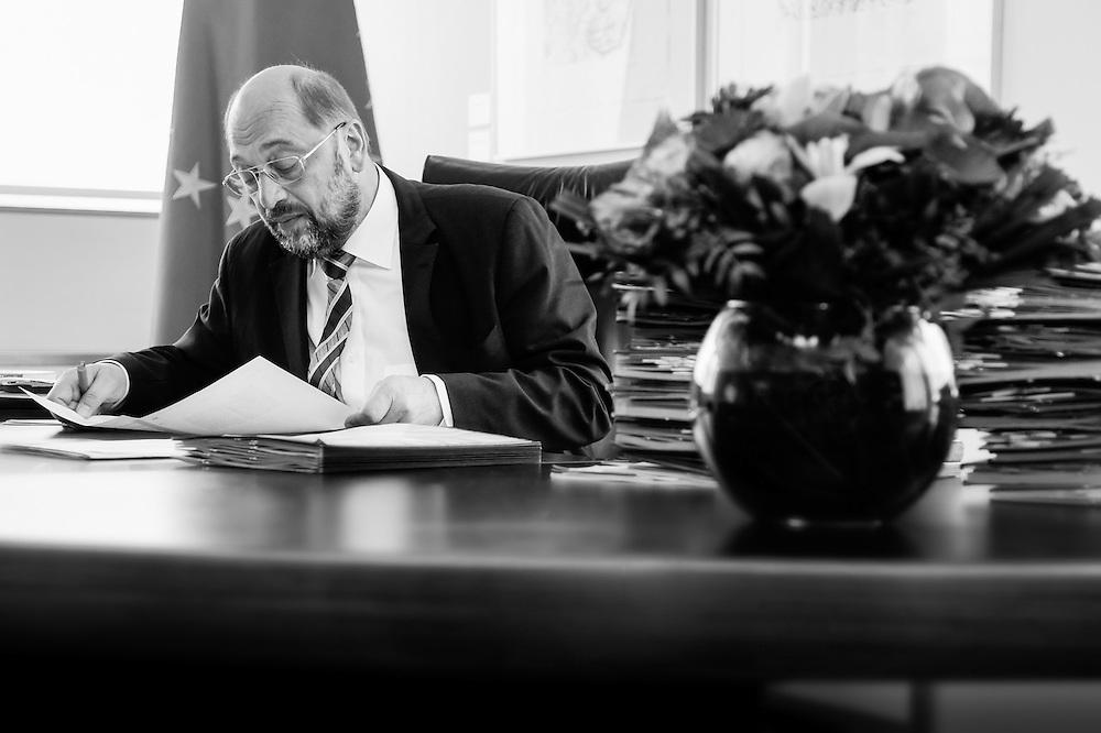 Martin SCHULZ EP President.