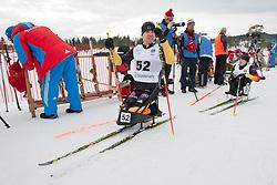 HAUCH Max, WICKER Anja, GER, Short Distance Biathlon, 2015 IPC Nordic and Biathlon World Cup Finals, Surnadal, Norway