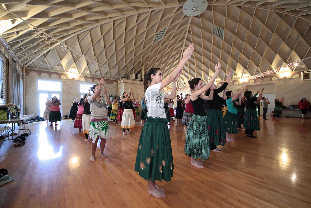 SoCal Slack Key Festival Hula Workshop with Lorna Lim in Redondo Beach.