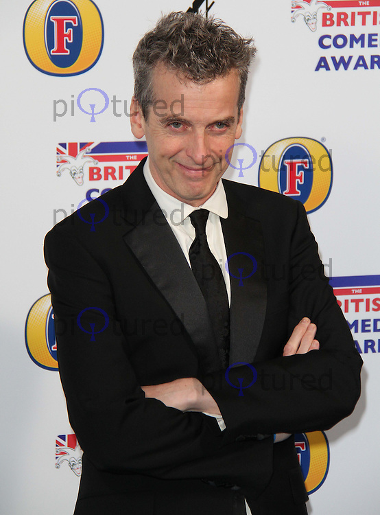 Peter Capaldi British Comedy Awards, O2 Arena, London, UK, 22 January 2011: Contact: Ian@Piqtured.com +44(0)791 626 2580 (Picture by Richard Goldschmidt)