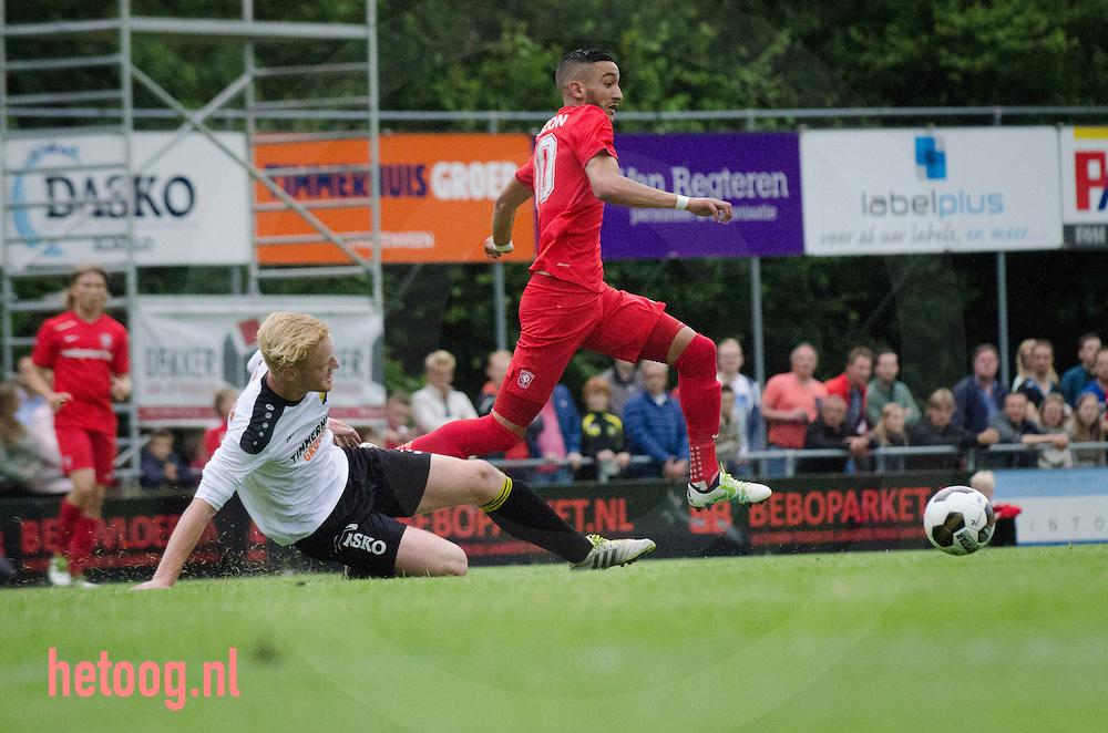 Woensdagavond 29 juni 2016 speelt FC Twente haar tweede oefenwedstrijd in de voorbereiding op het nieuwe seizoen. De ploeg van trainer Rene Hake speelt in Vriezenveen tegen Team Twenterand, eindstand0-5 voor FCT