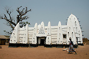 Mosque, Northern Ghana, West Africa, Africa.© Demelza Cloke