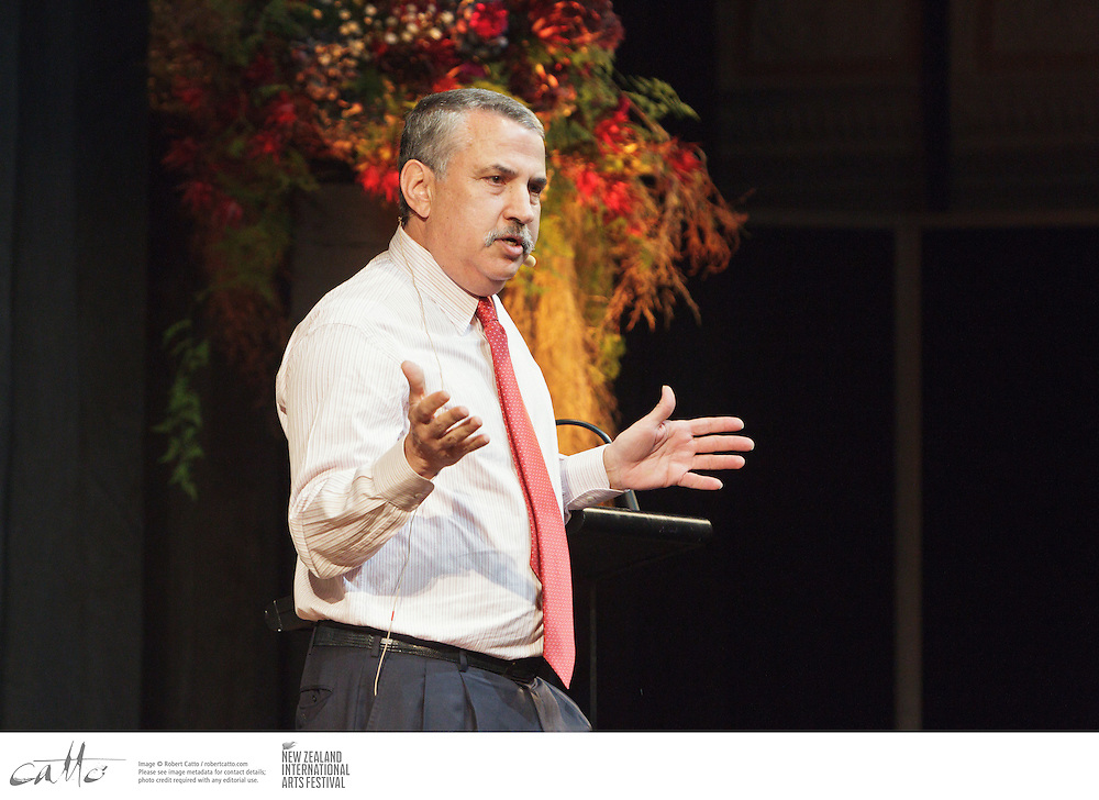 Three-time Pulitzer Prize-winning journalist, columnist and author Thomas Friedman concludes Writers and Readers Week at the New Zealand International Arts Festival with a keynote address examining the current state of America...One of the worlds most influential public intellectuals, Friedman is a long-time columnist for The New York Times. He has written extensively on global trade, the Middle East and the environment. Among his bestselling books are From Beirut to Jerusalem and The World is Flat: A Brief History of the Twenty-First Century, which has sold more than four million copies in 37 languages. His latest book, That Used To Be Us, explores the major challenges facing America today.