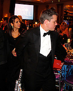 **EXCLUSIVE**.Luciana Barroso and Matt Damon..The UNICEF Ball - Inside.The Beverly Wilshire Hotel..Beverly Hills, CA, USA..Thursday December 10, 2009..Photo By Celebrityvibe.com.To license this image please call (212) 410 5354; or Email: celebrityvibe@gmail.com ; .website: www.celebrityvibe.com.