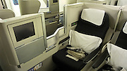 British Airways Club World seat. Business Class.