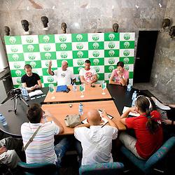 20090715: Football - Soccer - Press conference of NK Olimpija before new season 2009-2010