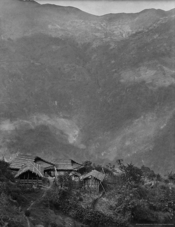 Village of the Tea Workers, Teesta Valley on the Way to Siliguri, India, 1929