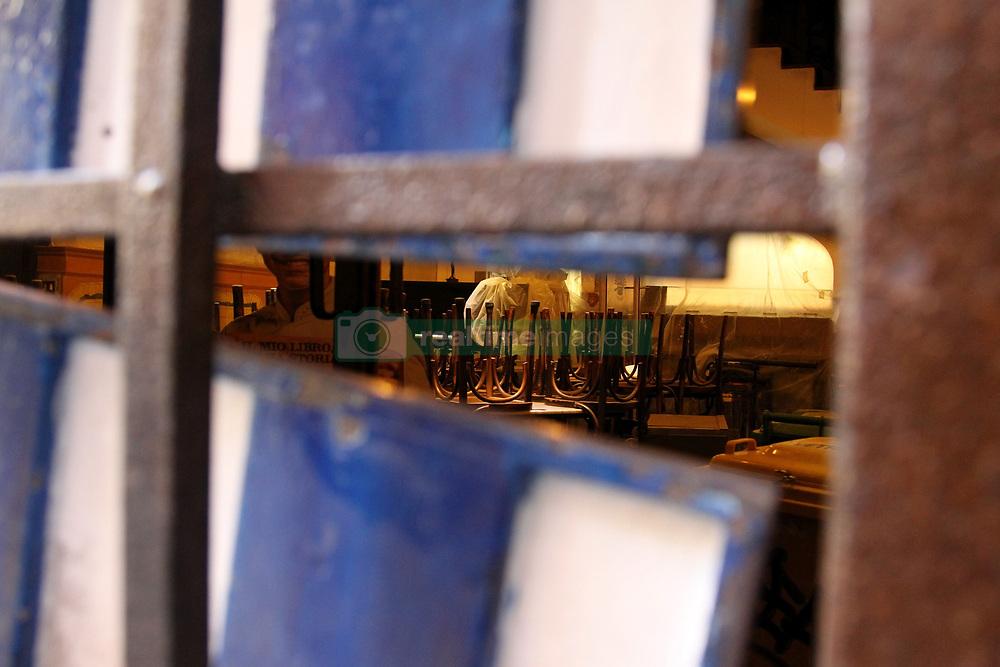 External view and street near PIZZERIA SORBILLO,after attack with bomb Naples, Italy, 16 January 2019  (Credit Image: © Esposito Salvatore/Soevermedia via ZUMA Press)