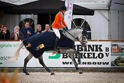 De Jong Sanne, NED, Enjoy<br /> CCI 3* Boekelo 2017<br /> © Dirk Caremans<br /> 08/10/2017