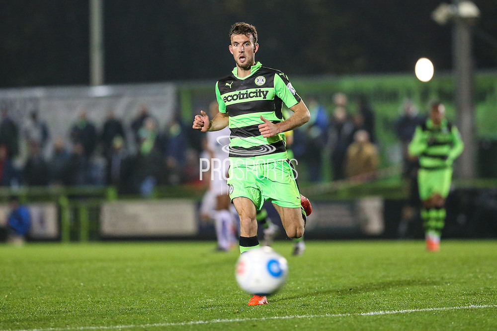 Forest Green Rovers Christian Doidge(9) during the Vanarama National League match between Forest Green Rovers and Tranmere Rovers at the New Lawn, Forest Green, United Kingdom on 22 November 2016. Photo by Shane Healey.