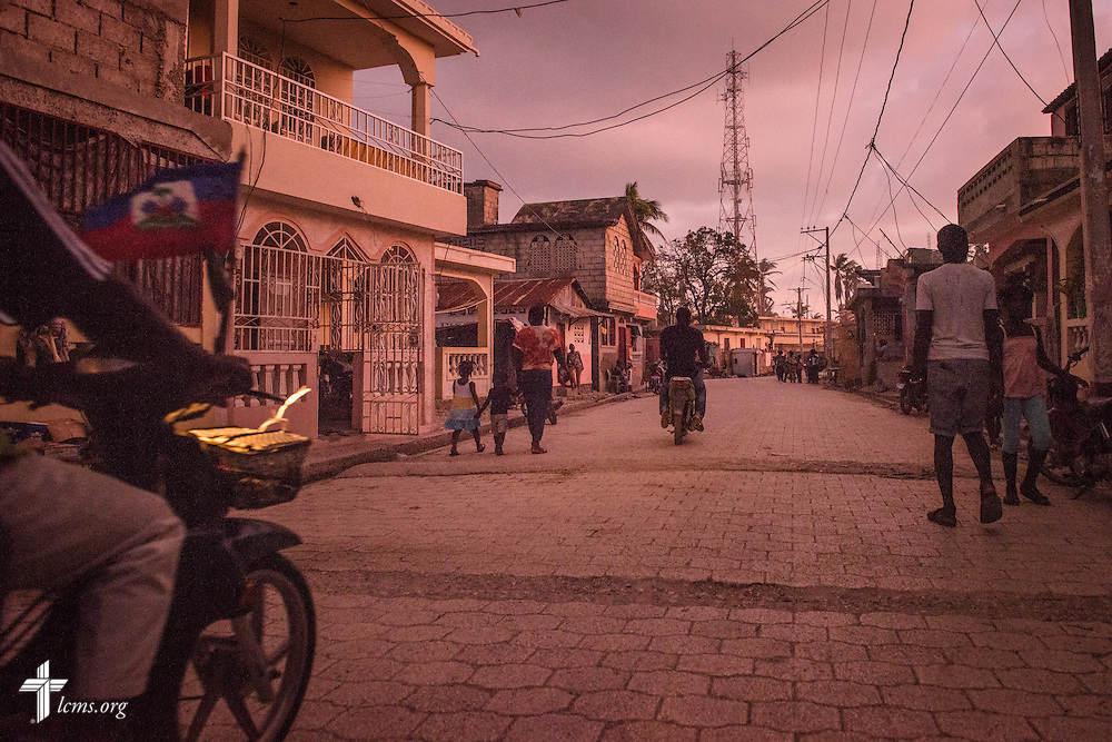 A street in Les Cayes, Haiti, on Tuesday, Oct. 11, 2016. The city was one of many areas in Haiti affected by Hurricane Matthew. LCMS Communications/Erik M. Lunsford