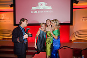 Andrea Catherwood;  Katie Derham; Emily Maitlis;. The Costa Book of the Year Award at the Costa Book Awards. The Intercontinental Hotel, Hamilton Place. London. 27 January 2009 *** Local Caption *** -DO NOT ARCHIVE -Copyright Photograph by Dafydd Jones. 248 Clapham Rd. London SW9 0PZ. Tel 0207 820 0771. www.dafjones.com<br /> Andrea Catherwood;  Katie Derham; Emily Maitlis;. The Costa Book of the Year Award at the Costa Book Awards. The Intercontinental Hotel, Hamilton Place. London. 27 January 2009