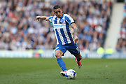 Brighton & Hove Albion winger Anthony Knockaert (11) during the EFL Sky Bet Championship match between Brighton and Hove Albion and Bristol City at the American Express Community Stadium, Brighton and Hove, England on 29 April 2017.